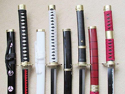 S2694 AIME ONE Piece SHUSUI WADO ICHIMONJI YUBASHIRI SANDAI KITETSU Serial Sword Fantasy Edge 40' LOT 4