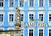 Reiseziel Bamberg (Wandkalender 2022 DIN A4 quer): Sehenswuerdigkeiten von Bamberg (Monatskalender, 14 Seiten )
