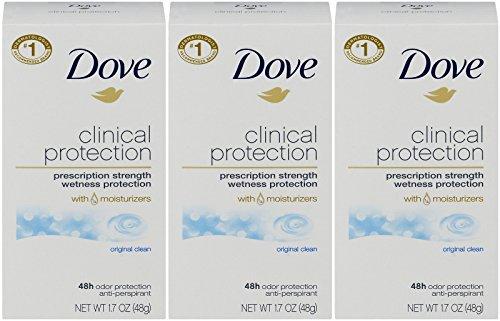 Dove Clinical Protection Original Clean Antiperspirant & Deodorant Stick - 1.7oz