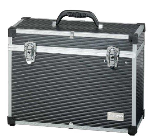 Comair 3010080D Werkzeugkoffer Aluminium, 33.5 x 45 x 20 cm, schwarz