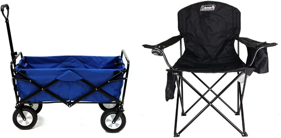 Mac Sports WTC-111 Outdoor sale Utility Wagon Max 83% OFF Solid B Blue Coleman