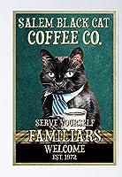 レトロおかしい金属錫サイン12x 16インチ(30 * 40 cm)子猫 ブリキ看板警告通知パブクラブカフェホームレストラン壁の装飾アートサインポスター(gs-1-82)