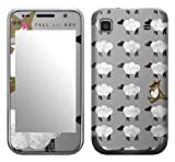 Zing Revolution MS-FOB30275 Fall Out Boy - Sheep Cell Phone Cover Skin for Samsung Galaxy S 4G (SGH-T959V)