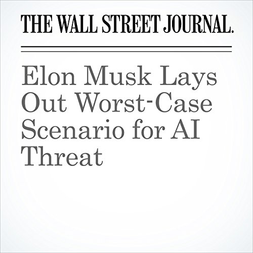 Elon Musk Lays Out Worst-Case Scenario for AI Threat copertina