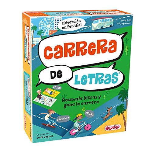 Carrera de letras (Lúdilo) – Juego de Mesa Educativo para niños, juega...