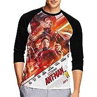 Tシャツ アントマン Ant-Man 七分袖 メンズ 中袖 吸水速乾 シンプル ロンTクルーネック 丸首 長袖 7分袖 半袖 無地 シンプル スリム 創意デザイン 男性tシャツ スタイリッシュ おもしろ カジュアル スポーツ