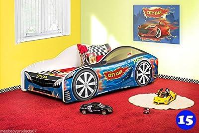 Coche camas con colchón de libre varios diseños
