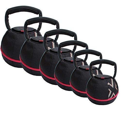 GYMBOX® Kettlebell/Smashbell avec du Sable pour l'entraînement Fonctionnel, 4-20 kg, Plein (4 Kilogramme)