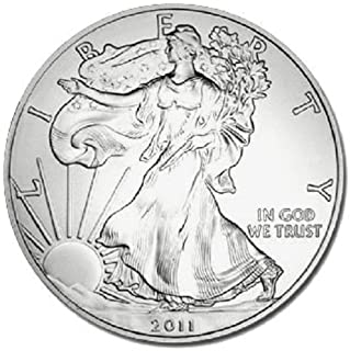 2011-1 Ounce American Silver Eagle Low Flat Rate Shipping .999 Fine Silver Dollar Uncirculated US Mint