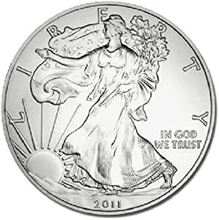 2011 1 oz fine silver dollar