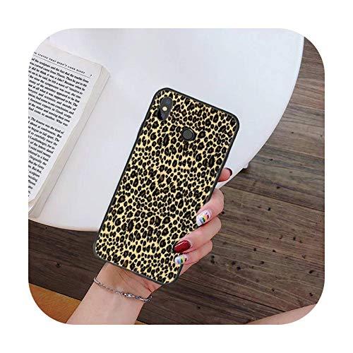 who-care Fashion Sexy Leopard Print Panther Cassa Del Telefono Per Xiaomi Per Redmi 4X 5Plus 6A 7 7A 8 8A Per Redmi Note 4 5 7 8 9 Note 8T 8Pro 9Pro-A6-Per Redmi 6A