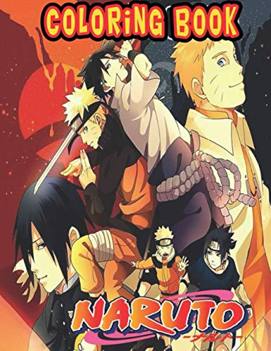 [画像:Naruto Coloring Book: Perfect Gift for Kids And Adults That Love Naruto Anime And Manga More Than 30 High Quality illustrations Great In Black And White for Encouraging Creativity]