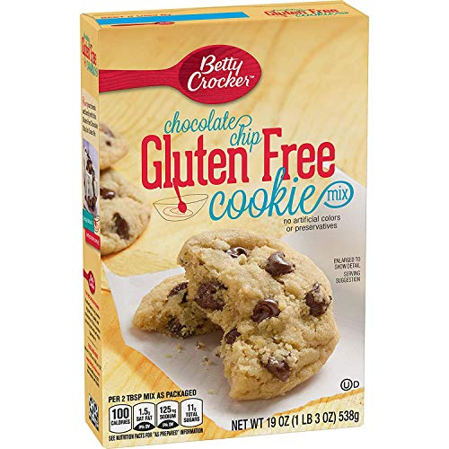 Betty Crocker Gluten Free Chocolate Chip Cookie Mix - 19 OZ Box