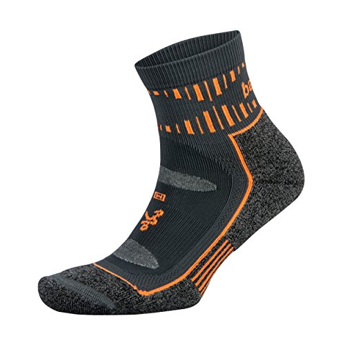 Balega Blister Resist Quarter Socks For Men and Women (1 Pair), Orange, Medium