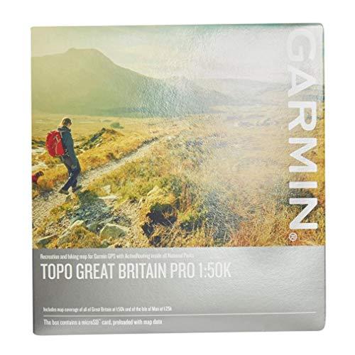 Garmin TOPO Britain Pro 1 : 50K Cartes matériel, Multicolore, Taille Unique