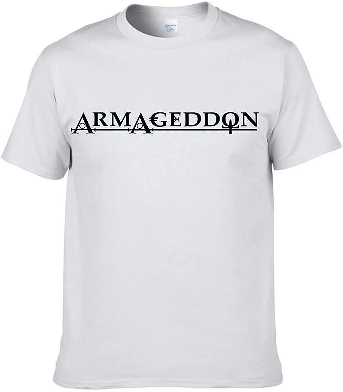 Camiseta Armageddon para hombre: Amazon.es: Ropa y accesorios