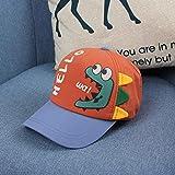 wtnhz Artículos de Moda Sombreros para niños, Sombreros para bebés Coreanos de Primavera y otoño para niños, Lindas Letras de Dinosaurios de Dibujos Animados, Gorras para niñosRegalo de Vacaciones