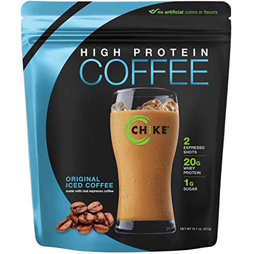 Chike High Protein Iced Coffee, Original, 14 Servings (15.1 Ounce)