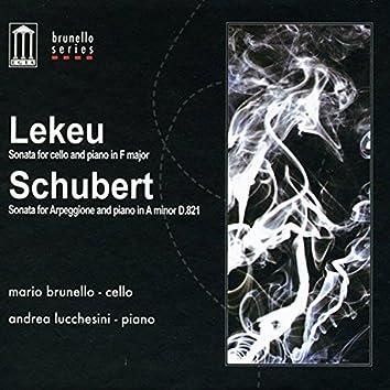 Lekeu & Schubert sonatas