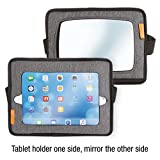 Dreambaby Reversible Car Back Seat Tablet Holder & Rear View Mirror