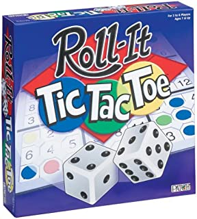 Patch Products Inc. Roll-It Tic-Tac-Toe Board Game