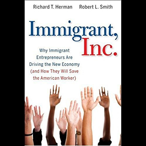 Immigrant, Inc. audiobook cover art
