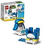 LEGO 71384 Super Mario Pack Potenciador: Mario Polar, Set de Expansión con Traje Interactivo
