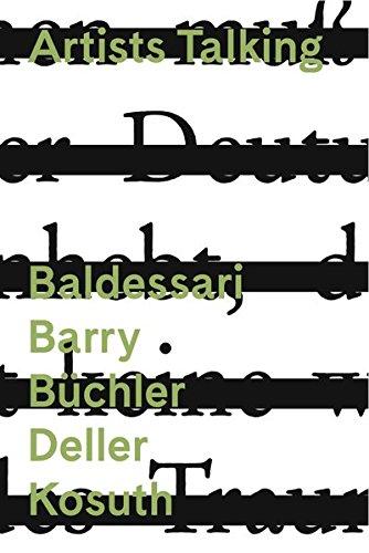 Artists Talking: Conceptual Art Baldessari Barry Büchler Deller Kosuth, 1 DVD-Video