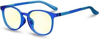 Blue Light Blocking Glasses for Kids: Girls Boys Eye Protection Anti Glare Filter UV Lenses Gaming Computer Screen Blocker...