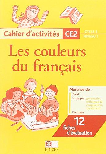 Cahier d'activités CE2 Cycle 3/niveau 1