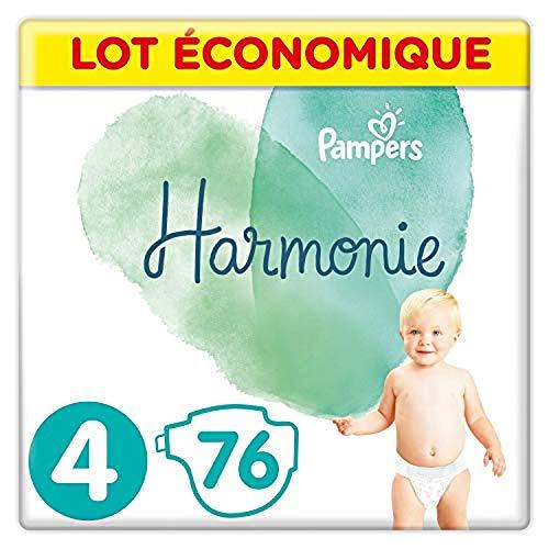 Pampers Harmoniecouches Tamaño 4 (9-14Kg) Lote Económico Hipoalergénica (76 Capas)