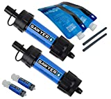 Sawyer Products SP126 MINI Water Filtration System, 2-Pack, Blue
