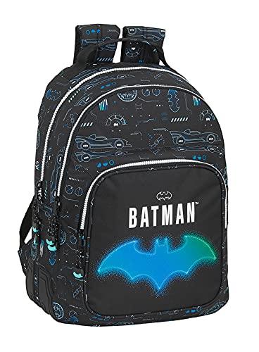 safta Mochila Escolar de Batman Bat-Tech, 320x150x420 mm