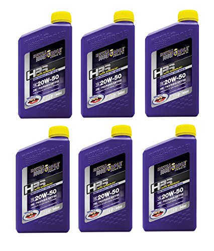 Royal Purple 31250 HPS Street Synthetic Motor Oil 20W50 Pack of 6 Quarts