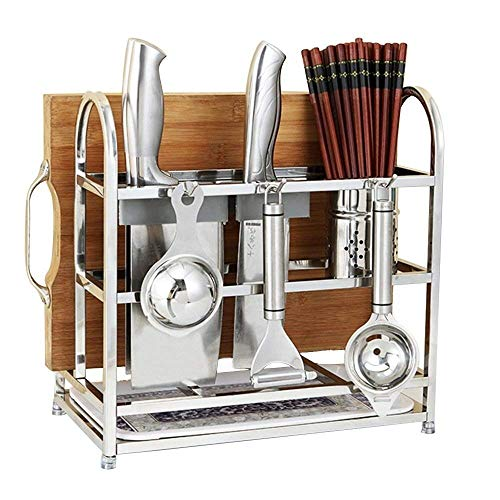 ZYL-YL Chopping Board/Chopsticks/Hook Kitchen Floor Drain Rack Size: 33 * 18.5 * 26cm