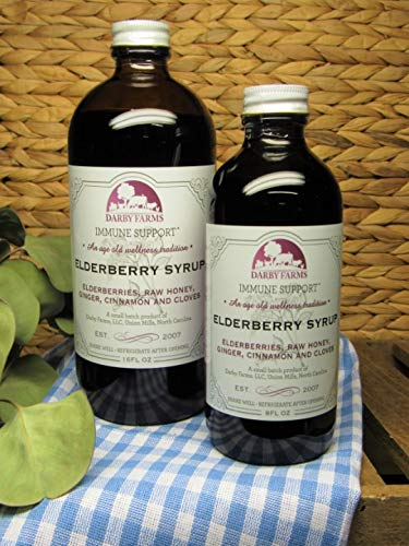 Darby Farms | Elderberry Syrup | 8 fl oz