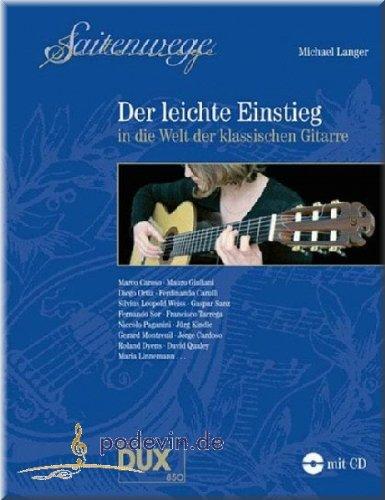 bester Test von gitarre der welt Saitenwege – Einfacher Einstieg in die Welt der klassischen Gitarre – Noten für Gitarre [Musiknoten]