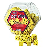Learning Resources Hands-On Soft Dot Dice Bucket