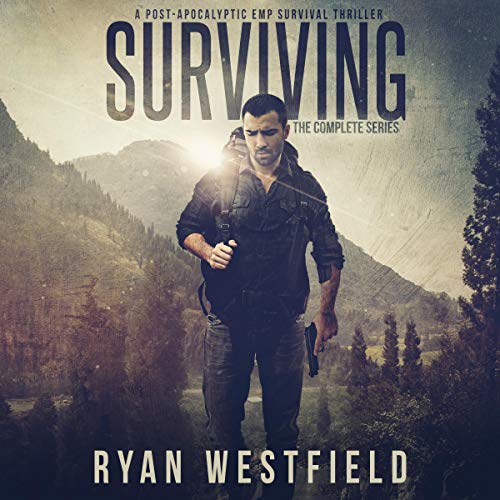 Surviving audiobook cover art