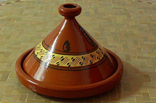 Marokkanische Tajine zum Kochen Ø 35 cm für 4-5 Personen - 905118-00011