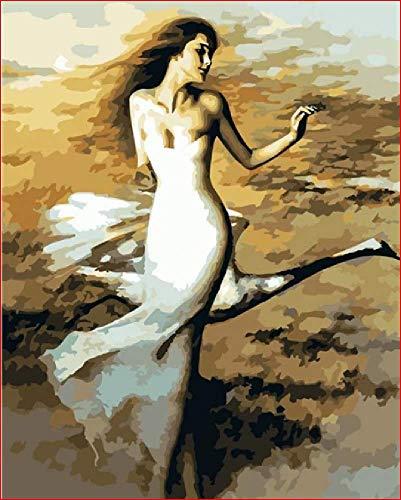 Pintura De Diamante Personalizada 5D Diy Swan Dancer Patrón De Punto De Cruz Decoración De La Pared Del Hogar 30 * 40 CM