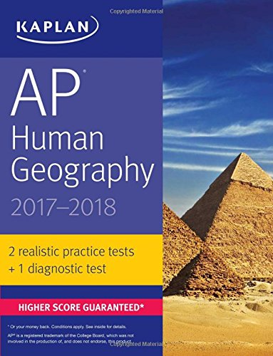 AP Human Geography 2017-2018 (Kaplan Test Prep)