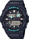 Casio Reloj Analógico-Digital para Mujer de Cuarzo con Correa en Resina BAX-100-1AER