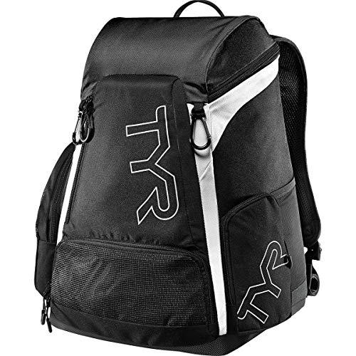 TYR Latbp30001all Alliance 30l Backpack, Black/White, ALL