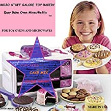 Mojo Stuff Galore Toy Bakery Easy Bake Oven Mixes Refills Super Pack (3 PACK Bundle)