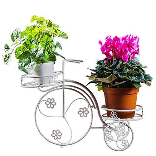 XZ15 Flower stand creatieve bloem stand balkon woonkamer vloer soort kantoor binnen en buiten fiets pot rack