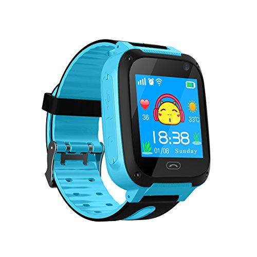 Reloj TDH con cámara, zona segura, localización GPS, botón SOS...