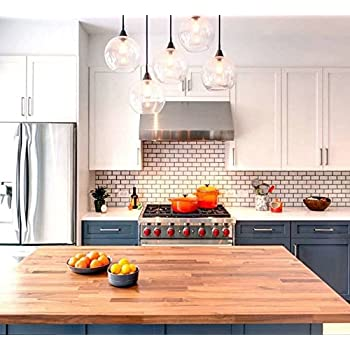2x4 White Subway Glossy Ceramic Tile Kitchen Backsplash Bathroom Box Of 10 Amazon Com