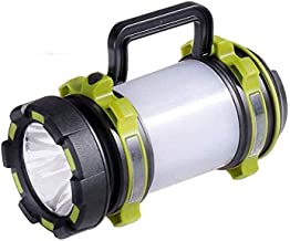 LKNJLL Outdoor Handheld Portable Flashlight 1000 Lumens USB Rechargeable Super Bright LED Spotlight Torch Searchlight Mult...