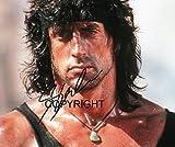 Limited Edition Sylvester Stallone Rambo unterzeichnet Foto
